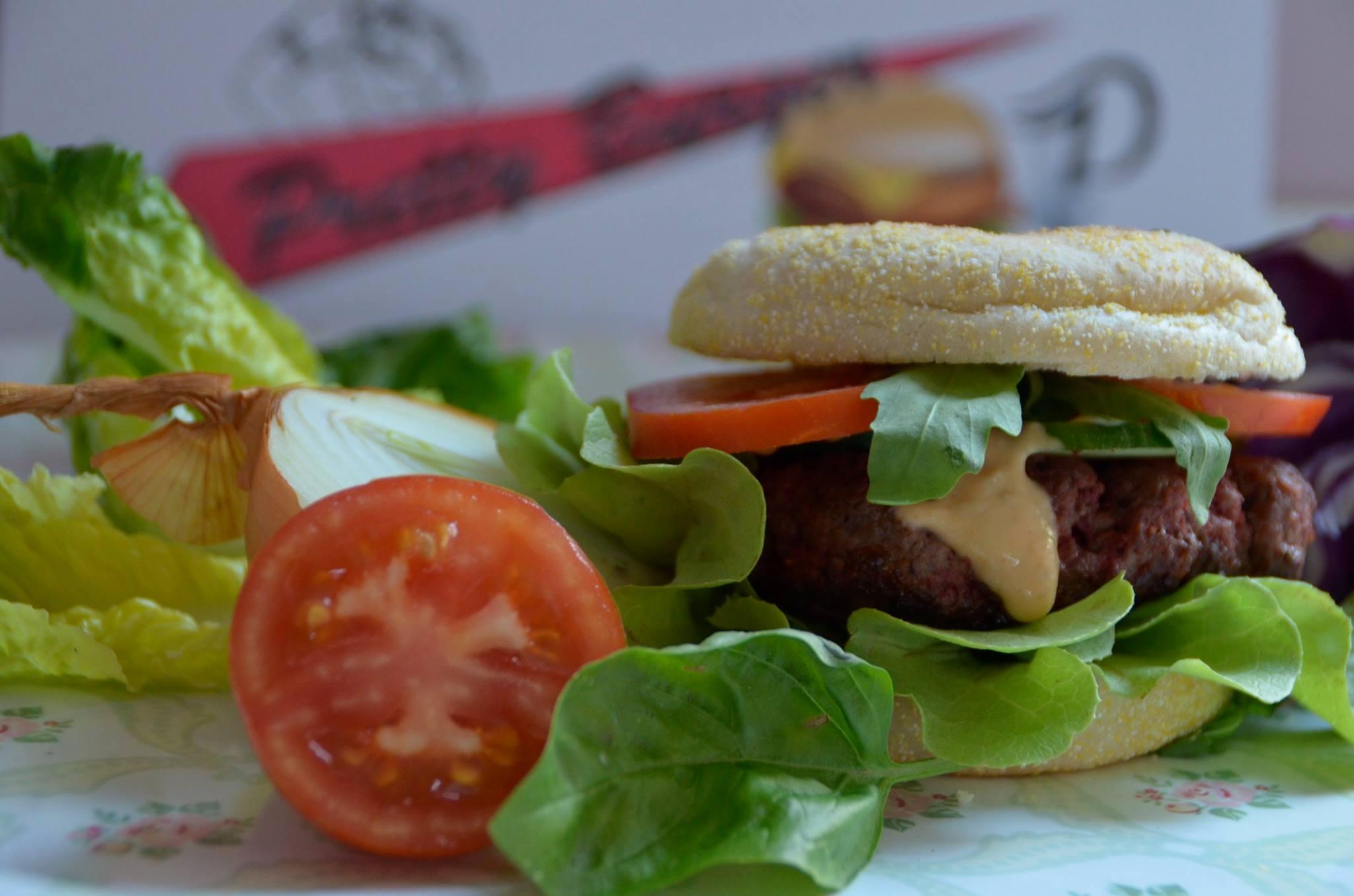 Burger satt Burger Segway Wein