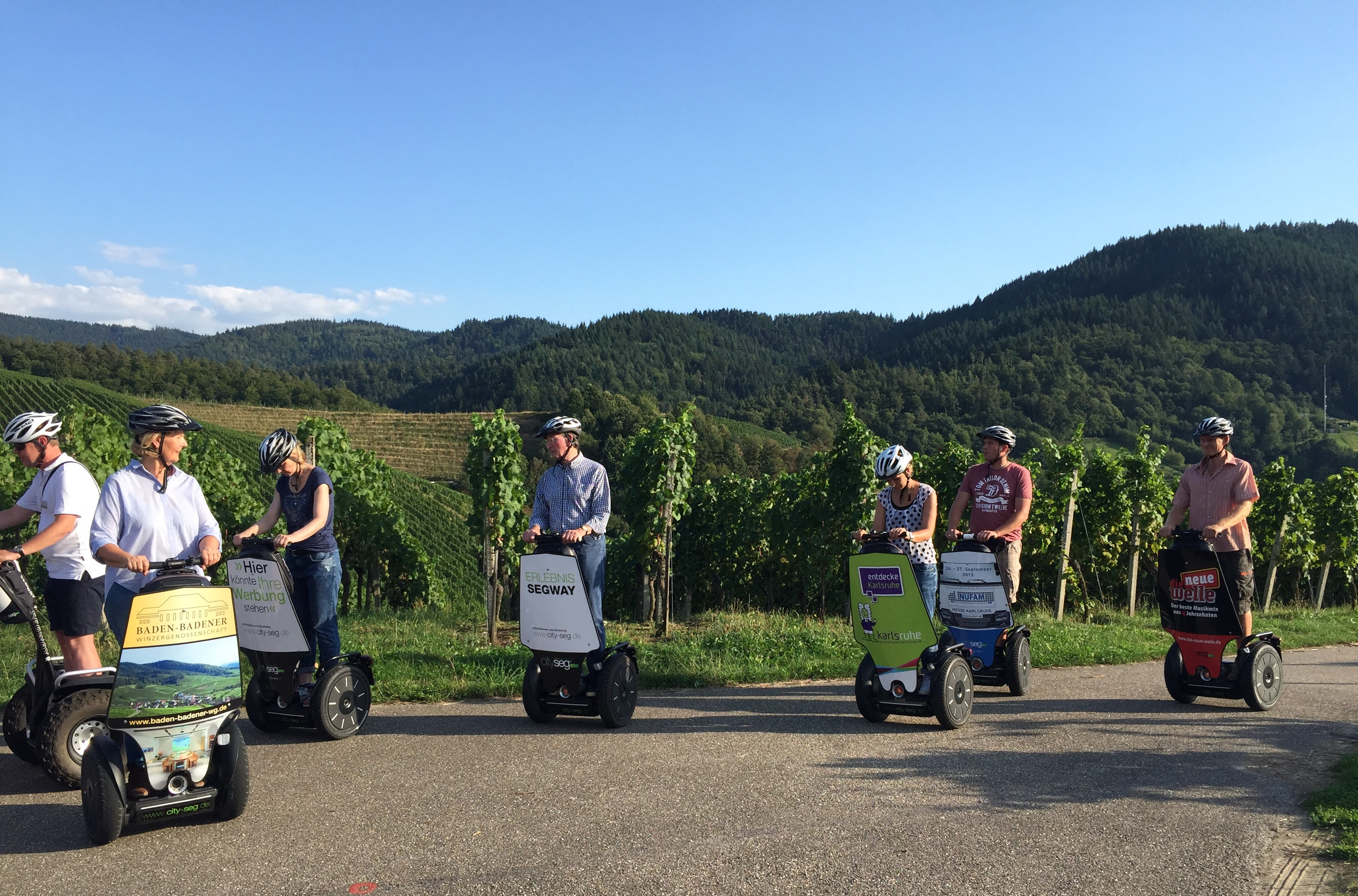 Tour de Reben Secco Burger satt Baden Badische Weinstrasse